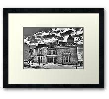 JAMES DONALD CAMERON MANSION Framed Print