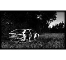 Burnt Out Scirocco Photographic Print
