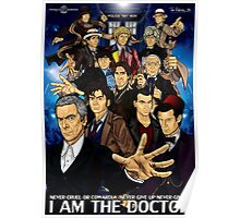 The 12 Doctors Poster
