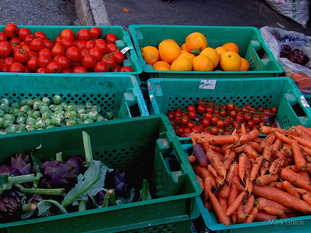 FRUIT AND VEGETABLES by Mark Grech