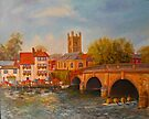 Under the bridge, Henley-on-Thames by Beatrice Cloake