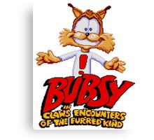 Bubsy Canvas Print
