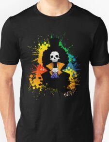 Afro Grunge Skull T-Shirt
