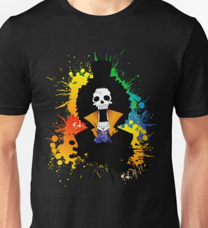 Afro Grunge Skull Unisex T-Shirt
