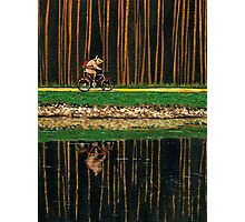 PIG - THE BICYCLE RIDE Photographic Print
