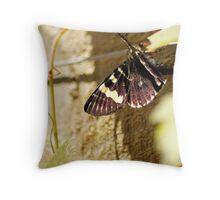 Butterfly Vine Throw Pillow