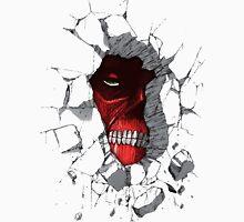 Red Peeking Monster Unisex T-Shirt