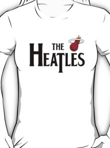 The Heatles in Black T-Shirt