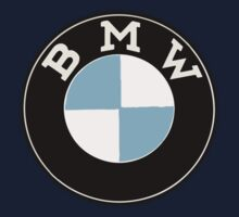 Vintage BMW Logo Kids Clothes