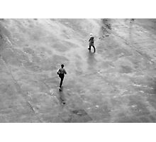 The runner  Photographic Print
