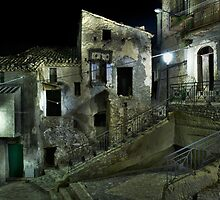 Semi-abandoned Village in Calabria, Italy by Mario Curcio