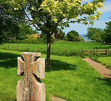 In An English Country Churchyard by RedHillDigital
