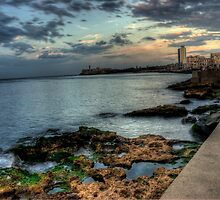 Havana, Memories from the Development: Malecon by AbelErnesto