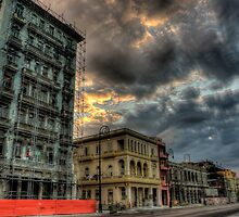 Havana, Memories from the Development: Rebuilding of Malecon by AbelErnesto