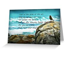 Birds of the Air II Greeting Card
