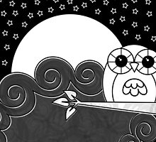 Whoot Owl Card by Louise Parton