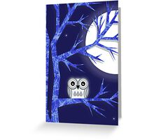 Snowy Owl Card Greeting Card