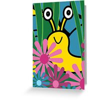 Boo! Snail Card Greeting Card