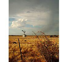 Passing Rain,Rural Geelong Photographic Print