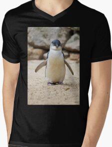 Happy Feet Mens V-Neck T-Shirt