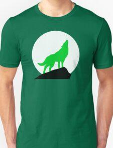Green Wolf Unisex T-Shirt