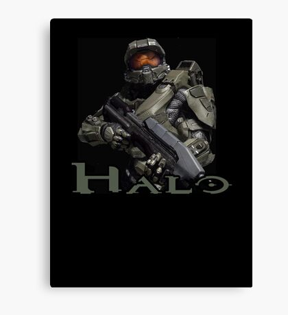 Halo Master Chief Canvas Print