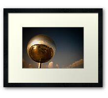 """Giant Disco Ball Dream!!"" (inc Plane) Framed Print"
