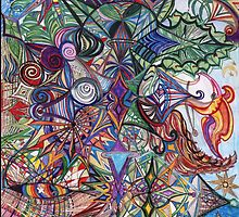raveling fabric of the universe by Calista