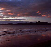 Kapiti Island Sunset by Russ Underwood