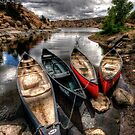 Canoe Break 2 by Bob Larson