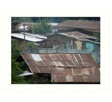 Rooftops of Addis Art Print