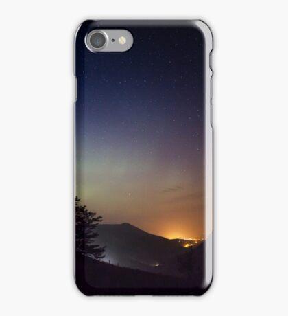 Aurora over Glengesh, Donegal iPhone Case/Skin