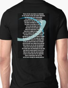 DW POETRY Unisex T-Shirt