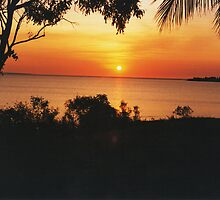 Sunset at Fanny Bay. Darwin by Matthew Walmsley-Sims