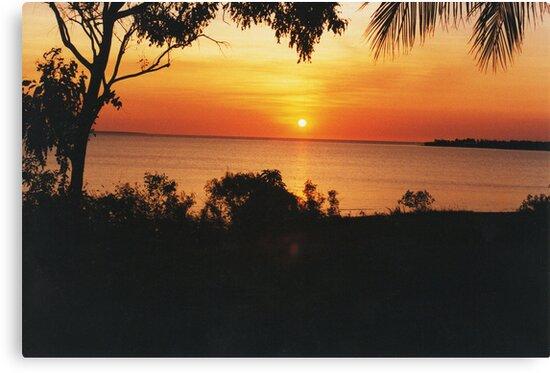 Sunset at Fanny Bay. Darwin by Matthew Walmsley-Sims