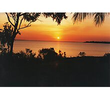 Sunset at Fanny Bay. Darwin Photographic Print