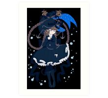 Wadanohara and the Great Blue Sea - The Sea Witch Art Print