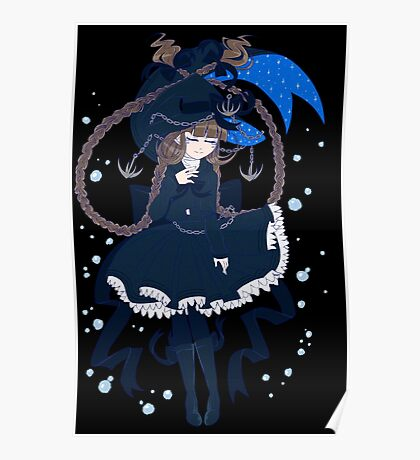 Wadanohara and the Great Blue Sea - The Sea Witch Poster