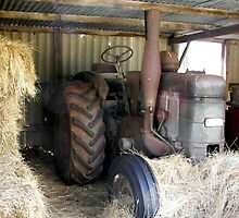 Tractor by michellerena