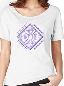 Ghost-Type Women's Relaxed Fit T-Shirt