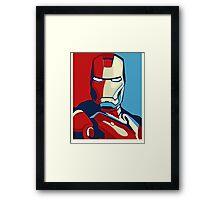 The Avengers - Vote for Iron Man (2) Framed Print