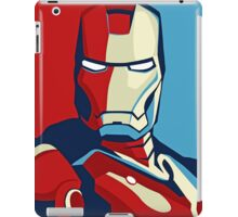 The Avengers - Vote for Iron Man (2) iPad Case/Skin
