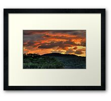 Come On Baby Light My Fire ! - Narrabeen Lakes, Sydney - The HDR Experience Framed Print