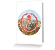 Internal Compass Greeting Card