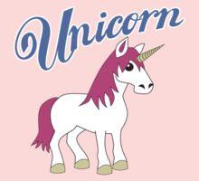 Unicorn With Title Kids Tee