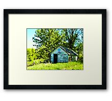 Old Shed Framed Print
