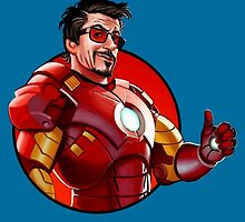 Iron Man - Tony Stark Approves by TylerMellark