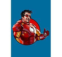 Iron Man - Tony Stark Approves Photographic Print