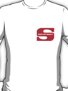 Department S (small cutout) T-Shirt