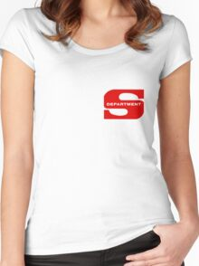 Department S (small cutout) Women's Fitted Scoop T-Shirt